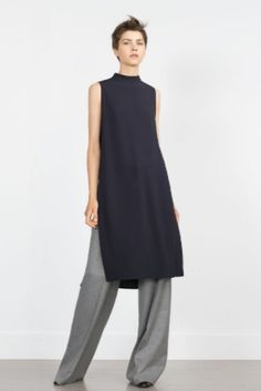 Zara Tunic With Side Slits