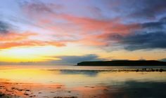 Sunset over Galway Bay Emerald Isle, Isle Of Wight, My Heritage, Ireland, Heaven, Clouds, Sunrises, History, Places