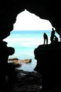 Hercules Cave, Tangier Morocco - shaped like Africa. Stood in that exact spot.