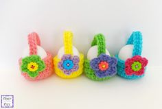 Fiber Flux: Free Crochet Pattern...Little Egg Basket