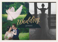 Wedding Lightroom Presets by attraax on @creativemarket
