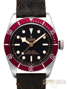 Tudor Heritage Black Bay 79230R-0005 Lederband