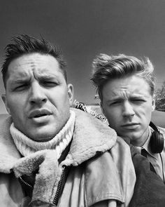 """320 Likes, 10 Comments - Traci Andreas (@delaneys_dame) on Instagram: """"Good lord in sweet heaven above. Two spitfires for sure. Tommy and Jack Lowden ♠️ #tomhardy…"""""""