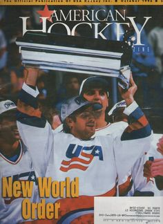 AMONTE Usa Hockey, Zine, Baseball Cards, American, Sports, Hs Sports, Sport