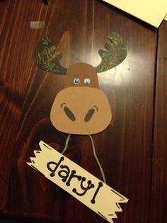 Moose door tags for Alaska theme