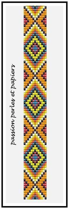 off loom beading techniques Loom Bracelet Patterns, Seed Bead Patterns, Bead Loom Bracelets, Weaving Patterns, Jewelry Patterns, Snake Patterns, Loom Bands, Mochila Crochet, Art Perle