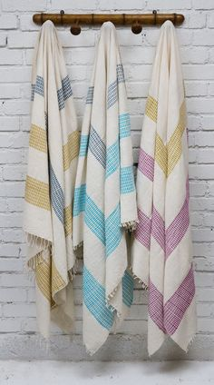 Creative Women Towels  These 100% cotton, hand woven Ethiopian textiles are multi functional; they can be used as a quick drying towel, bedspread, tablecloth or sarong.