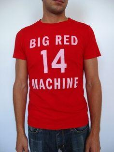 Pete's Big Red Machine tee by No Mas. $34