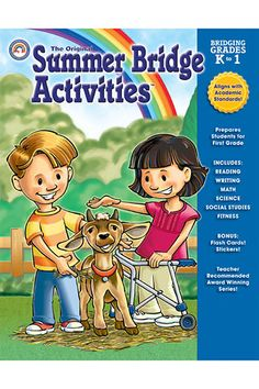 Summer Bridge Activities Book Gr K-1 by Carson Dellosa $8.05