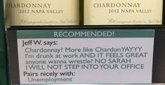 This Guy Added His Own Brutally Honest Wine Recommendations To His Local Liquor Store
