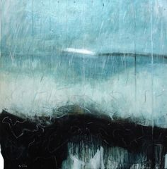 offshore lewis noble Landscape Sketch, Abstract Landscape Painting, Encaustic Painting, Landscape Paintings, Abstract Art, Sculpture Art, Sculptures, Examples Of Art, Art Textile