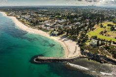 Perth, Western Australia. Good morning Cottesloe