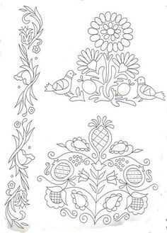 Peasant Embroidery Folk Art 13