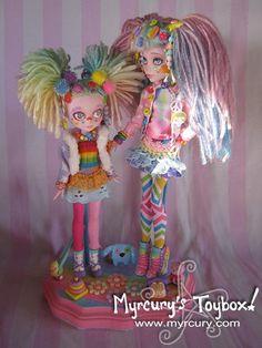 One of a Kind Sister Dolls Custom Monster High Draculaura