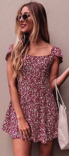 #summer #mishkahboutique #outfits | Little Floral Dress