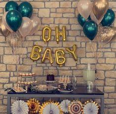 """30/"""" X 2 unisexe Big Foil Balloon for baby shower baptême fête d/'anniversaire"""