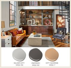 this months featured color- a popular member of the orange family- terracotta. Soft and warm these tones are livable and well loved in interior design.