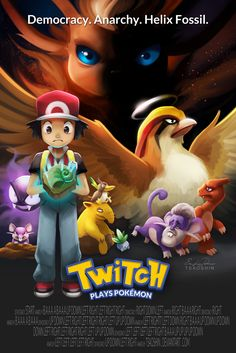 Twitch Plays Pokemon by TsaoShin.deviantart.com on @deviantART