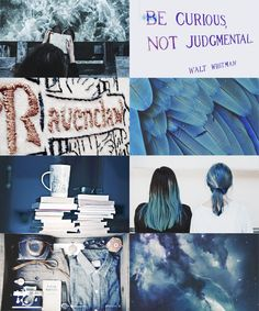 harry potter aesthetics: ravenclaw