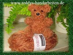 Meine gestrickten Brazilia Teddybären