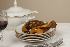 Lamb Tajine with Dried Fruit & Almonds