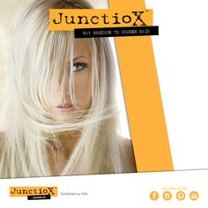 Junctiox can be mixed with every technical treatment: try it with the belaching service! / Junctiox può essere utilizzato con qualsiasi trattamento tecnico: provatelo con la decolorazione! #hsacosmetics #cosmetics #beauty #love #wellness #beautiful #hair #hairstyle #haircolor #junctiox