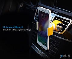 Cell Phone Holder for Universal Mobiles From Excelleco Use As a Desk Stand, Drink Holder, Car Mount & More. Easy to Install, Portable, 360° Rotation & Premium Flexible Design. Simplify Your Life Now! Excelleco 360 http://www.amazon.com/dp/B00YLUF7J4/ref=cm_sw_r_pi_dp_SKRKvb1A6H6AS