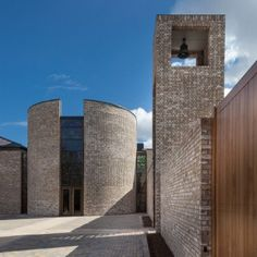 """Carmelite Monastery by Austin-Smith:Lord   designed to be """"calm, ordered and uplifting"""""""