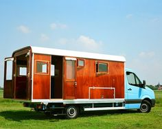 Tonke Fieldsleeper Motorhome - The back end can be easily detached to become a tiny home or guest house.