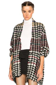 Image 1 of Isabel Marant Diana Weave Coat in Multi