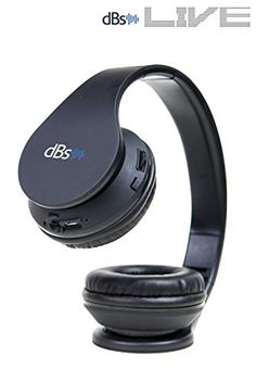 dBs Live 2 Wireless Bluetooth Headphones with Mic V41 Onear Foldable Headset for Gym  Sports  Exercise  Workout  Music Streaming for iOS Android  PC and Mac *** You can find out more details at the link of the image. (Note:Amazon affiliate link)