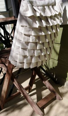 Chair Back Cover Weddings and Dining by GreenHousePurpleDoor, $75.00