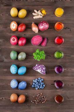 Pääsiäismunien maalaus - pääsiäismunien koristelu
