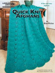 Easy Home Decor Knitting Patterns - Quick Knit Afghans