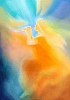 de malerei aquarelle index. Spiritual Paintings, Chalkboard Drawings, Prophetic Art, Visionary Art, Angel Art, Religious Art, Light Art, Painting Inspiration, Watercolor Paintings