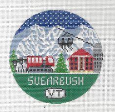Sugarbush Vermont Needlepoint Christmas by DoolittleStitchery
