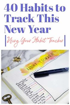 Do you want to break bad habits and build good ones? A habit tracker is the perfect way to work from a daily level in building better habits this new year!    #habittracker #buildinggoodhabits #bulletjournal #newyear via @LittleCoffeeFox