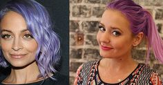 Rainbow reigns supreme! When it comes to this season's hottest trend, everyone's flocking to bright pastels as their Spring hair colors of choice. Aren't visions of Jem and the Holograms and Rainbow Brite running through your head? Katy Perry and Kristen.