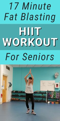 Gym Workout For Beginners, Fitness Workout For Women, Workout Videos, Walking Exercise, Senior Fitness, Easy Workouts, Physical Fitness, Excercise, Interval Training