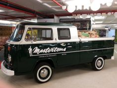 Ryler #Masterton's #Volkswagen #VW #Type2 #Kombi #DoubleCab #DeliveryVan with #bags of #coffee | #OldSchool