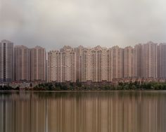 Presently 'ghost towns', art photographer captures Chinese Cities built for the future, not a present need. Shot with a view camera. Good work IMO.
