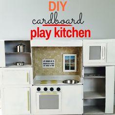 diy play kitchen                                                                                                                                                                                 More