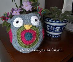 Owl - amigurumi