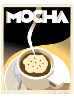 Deco Mocha I Posters by Richard Weiss at AllPosters.com