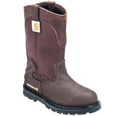 Carhartt Boots: Men's Steel Toe CMP1270 Waterproof EH Wellington Boots #CarharttClothing #DickiesWorkwear #WolverineBoots #TimberlandProBoots #WolverineSteelToeBoots #SteelToeShoes #WorkBoots #CarharttJackets #WranglerJeans #CarhartBibOveralls #CarharttPants