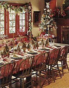Christmas...table setting