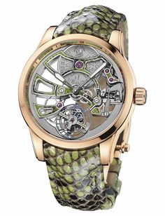 Ulysse Nardin Royal Python Skeleton Tourbillon.