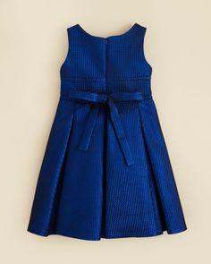 Kleinfeld Pink Girls' Anna Shimmer Dress - Sizes 4-6X