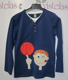 VISTELAS. Camiseta Baloncesto