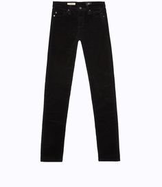 THE CORDUROY PRIMA in SUPER BLACK | AG Jeans Official Store